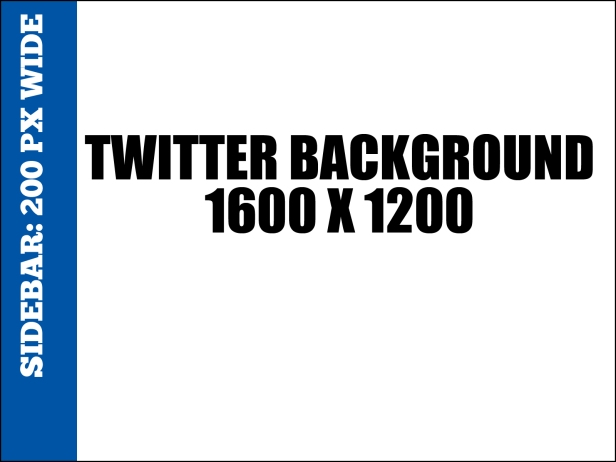 Twitter Background Template