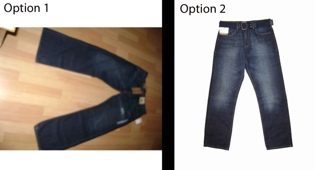 eBay Jeans Comparison