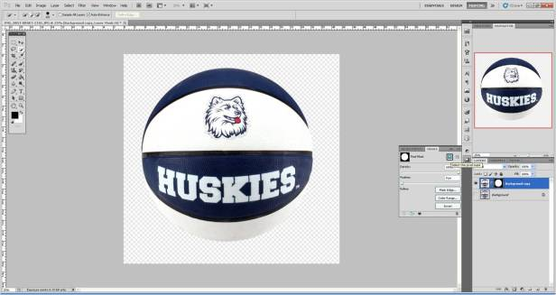 Hide the background layer then create a Mask to remove balance of background