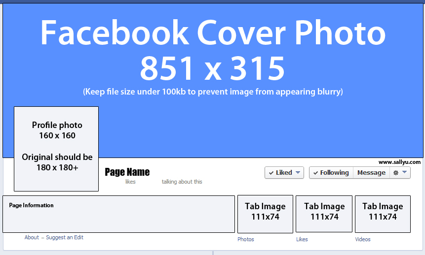 facebook cover dimensions sallyu com
