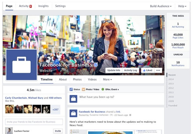 Behold, the new(est) Facebook page layout!