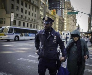 Photos like this are probably more of what the NYPD social media team was expecting, source: NYPD Facebook page