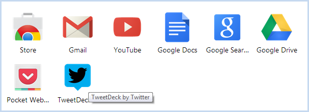 TweetDeck has a handy Chrome extension for quick access
