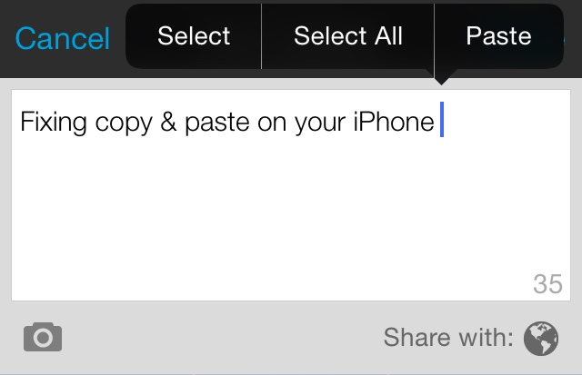 Copy & Paste Not Working on Your iPhone? 4 Easy Steps That Worked for Me! |  Biz Life Tech