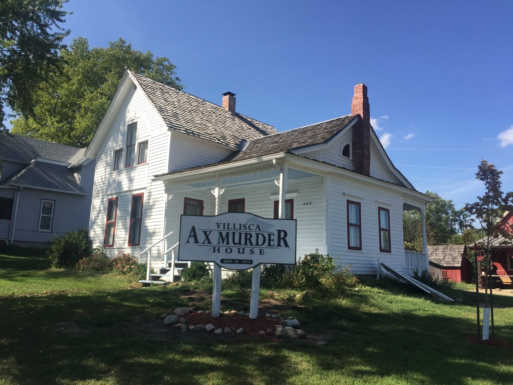 Photo of the Villisca Axe Murder house, taken September 23, 2017.